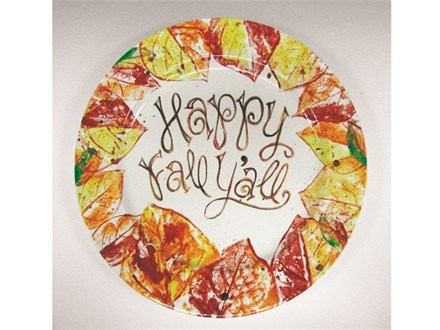 Happy Fall Y'all Ceramics and Cocktails