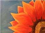 "Canvas Night, ""Sunflower"" Thursday July 2nd 7-10pm"