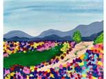 BEGINNER: Wildflower Field Paint Class