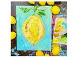 Lemon Virtual Paint Class