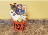 Ghost Lantern Halloween Gift Bucket - Rocky Mountain Chocolate Apple Of Your Choice Included!