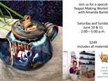 Teapot Workshop with Amanda Bartel