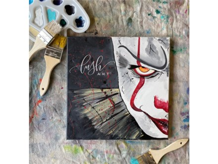 Pennywise Inspired Paint Class