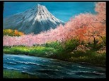 07/29 GA-OIL: Cherry Trees at Mt. Fuji 6:30 PM $45