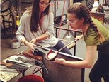 glassblowing at glassybaby madrona 12/5
