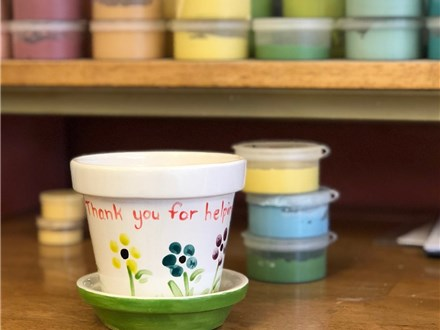 Family Pottery - Flower Pots for Mommy - 04.29.18