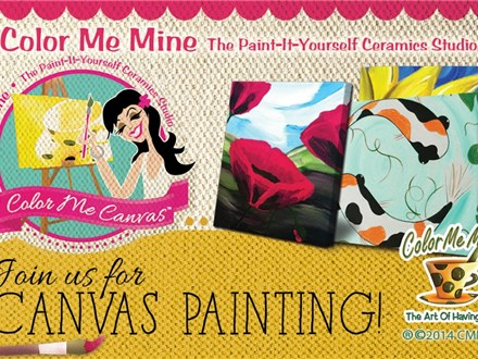 Canvas Class for Adults! May 26th