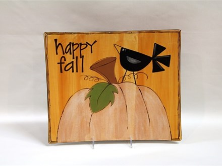 Happy Fall Ceramics and Cocktails