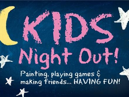 Kid's Night Out - Pumpkin Palooza - October 19th
