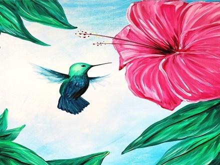 Hummingbird: Canvas Class (Repeat)