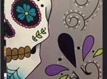 "Canvas Night ""Sugar Skull"" Saturday, October 28th 7-10pm"