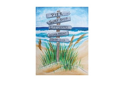 Beach This Way - Canvas - Paint and Sip