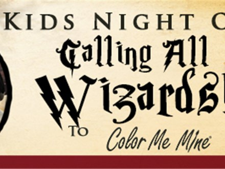Kids Night Out - Witches & Wizards Only! - Nov. 10