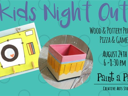 Kids Night Out Back to School - 8/24/18