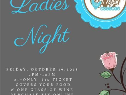 Ladies Night October 2018