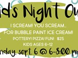 Kids Night Out @The Pottery Patch