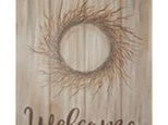 Adult Canvas Night Nov 5th Welcome Berry Wreath