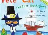 Story Time - Pete the Cat: The First Thanksgiving - Evening Session - 11.12.18