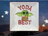 Yoda Best Pottery Painting Class Feb 10th 6:30-8:30p