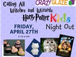 Ticket for Crazy Glaze Studio's Kids Night Out April 27th