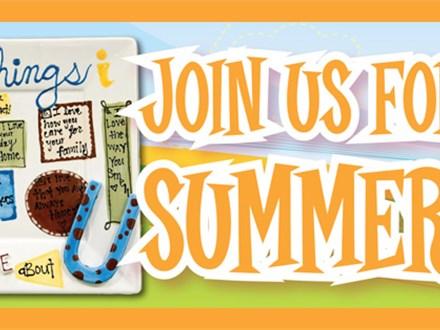 Week Long Summer Art Camp: Week 1 June 10th-14th