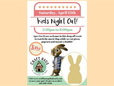 Kids Night Out: Rabbit Mosaic