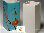 """"""" Rectangular Vase"""" To-Go Kit- at Color Me Mine - Aspen"""