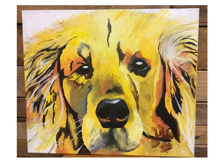 Adult Canvas- Paint Your Pet - Jan. 13th