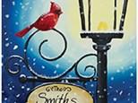 Paint Night - Cardinal Lamppost - Nov 26 - 6-8pm