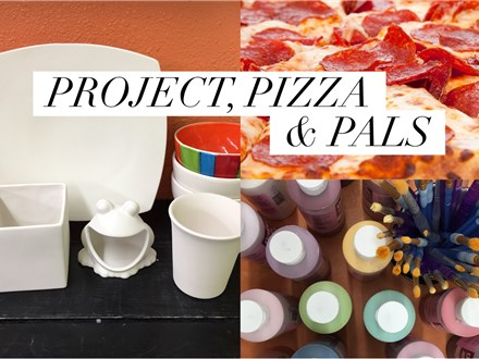 Project, Pizza and Pals (registration fee)