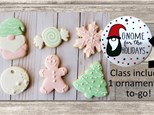 Royal Icing Cookie Decorating Class ages 6 & up 12/16/20