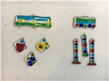 Fused Glass Wind Chimes Workshop! June 12, 2018