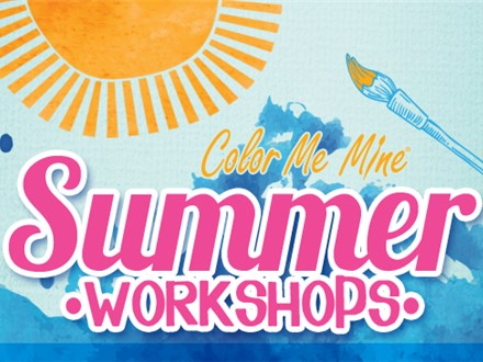 2019 Half Day of Summer Camp at Color Me Mine - Bayshore