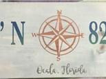 Board Art - Ocala LAT/LONG Sign - 02.16.17 - Evening Session
