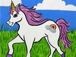 Kid's Canvas - Unicorn Fields - Morning Session - 08.01.18