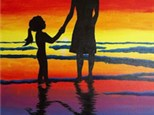 Mommy and Me Canvas Painting, July 10th 12-2:30pm