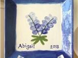 Thumbprint Bluebonnet Pottery! 4/14/18