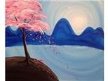 Blue Moutain Cherry Blossoms