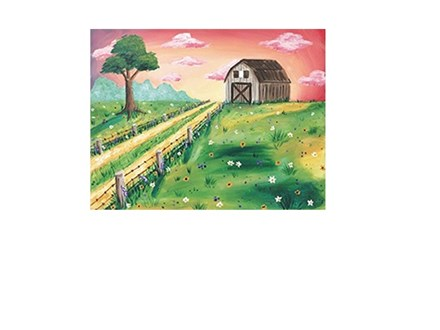 Country Barn - Canvas - Paint and Sip