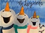 Snowman Family Canvas - December 11