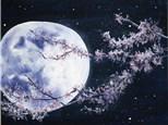 Moonlight View Paint Class by Rachel Sharpe