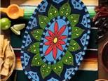 """"""" Talavera Platter"""" To-Go Kit- at Color Me Mine - Aspen"""