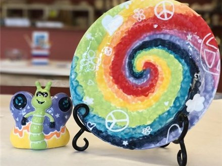 Full Day Session - Summer Camp - Peace, Love, and Pottery - MONDAY - 06.10.19