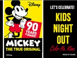 Kids Night Out: Mickey's Birthday - November 17
