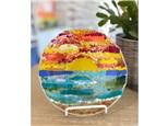 Mt. Washington Glass Fused Sunset Dish - May 11th