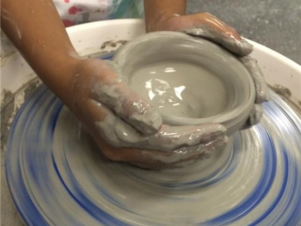 The Pottery Experience - Girl Scout Pottery Badge for Brownies