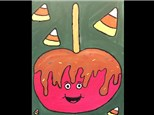 "Kid's Night Out Canvas Night! ""Caramel Apple"" Friday, September 22nd 6-8pm"