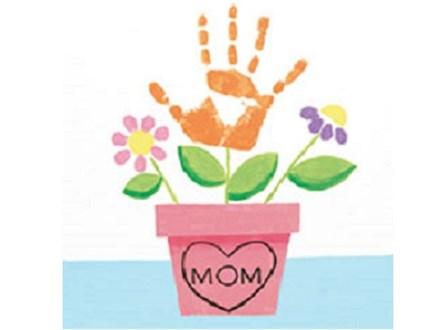 Summer Kids' Canvas Class! Handprint Flowers! 6/21/19