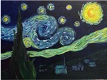 """Starry Night"" Group Party at Sketch Pad"