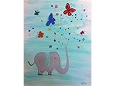 Family Day!  Happy Elephant